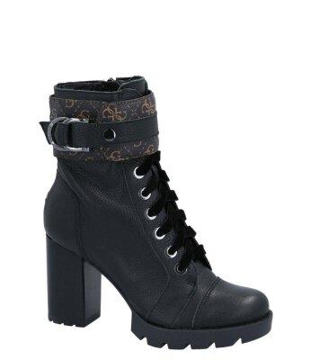 Guess 38 as fekete bőr elegáns csizma eWomen Shopping