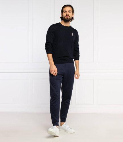 Karl Lagerfeld Férfi felső ujjatlan kabát, kék szürke