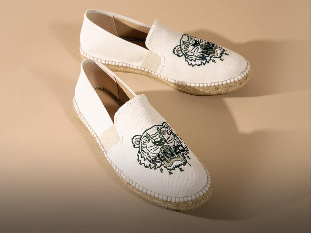 Spárgatalpú vászonycipők